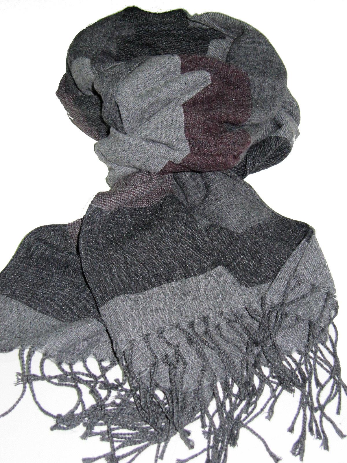 ... sciarpa lana pashmina fasciat wool fashion moda uomo donna prezzo doc  made italy ... 609de97df2af