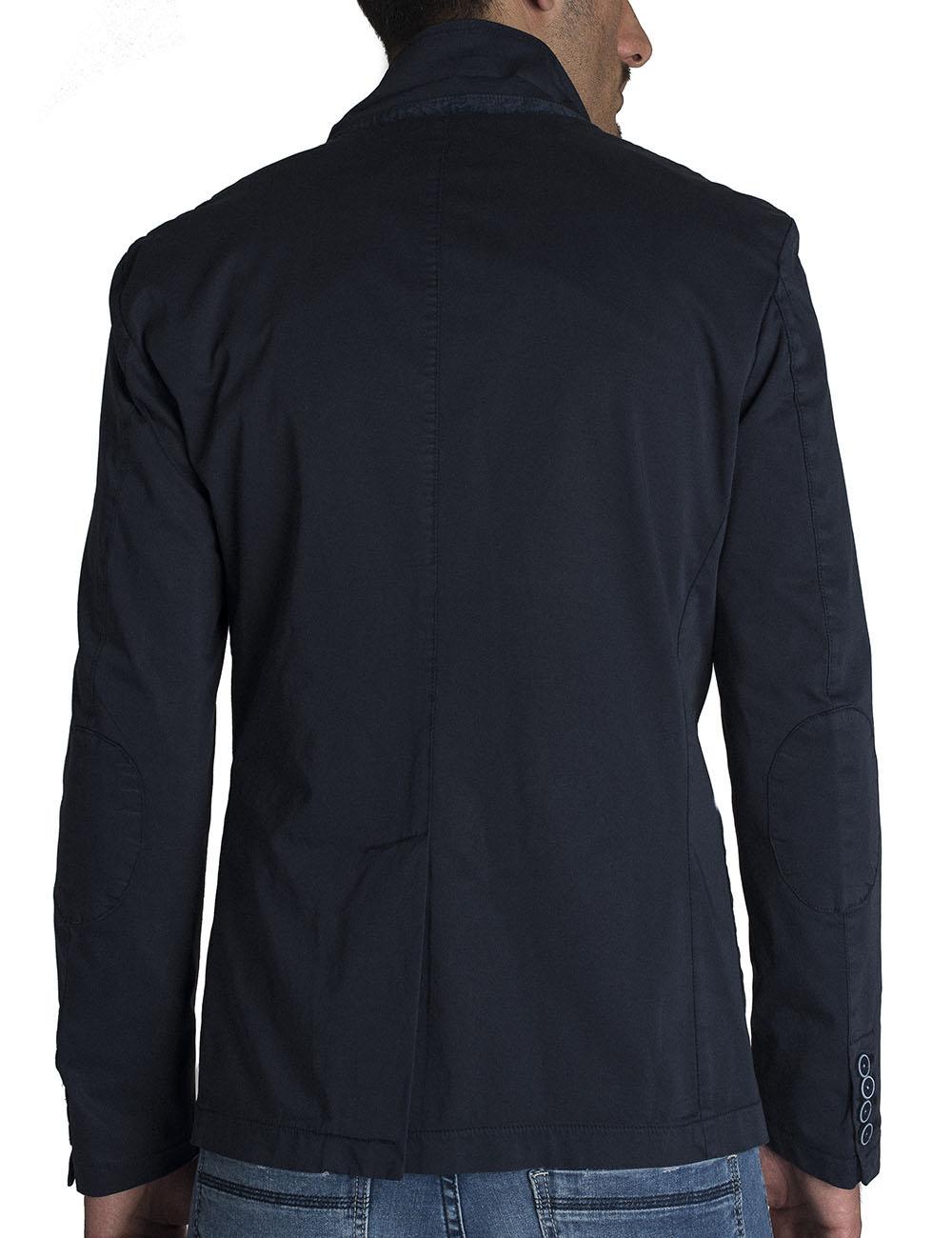 35d9939915 Giacca Uomo Slim Fit Cotone Tinto Capo Moda Fashion Primavera Estate ...