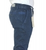pantalone uomo slim cotone stretch chinos fashion moda microfantasia made italy