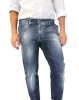 pantalone jeans fashion uomo slim cotone stretch moda made italy prezzo new top