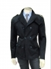 trench giacca giubbotto uomo slim tipo england cotone imbottit made in italy new
