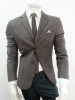 giacca uomo slim sartoriale con toppe lana stretch made in italy decostruita new
